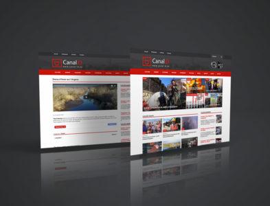 Refonte site web de Canal.D