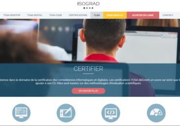Des certifications TOSA pour les salariés